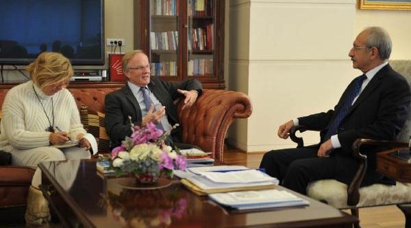 Kiliçdaroğlu, Almanya Büyükelçisi Eberhard Pohl Ile Görüştü
