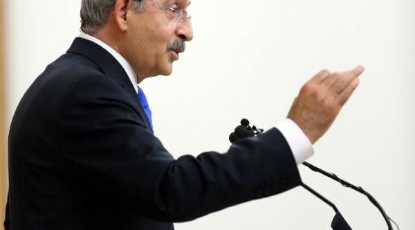 Kiliçdaroğlu : Arinç'i Görevden Al, Valiyi Hükümet Sözcüsü Yap