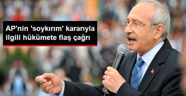 Kılıçdaroğlu: Avrupa Parlamentosu Kararıyla İlgili Ortak Metin İmzalayabiliriz