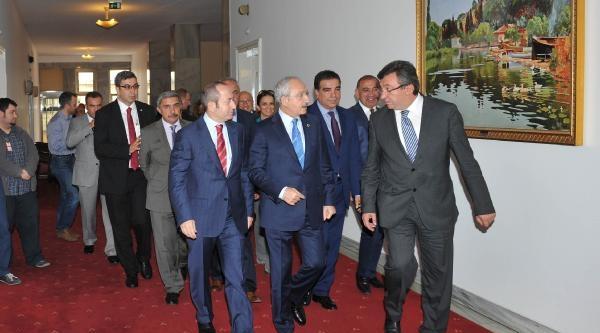 Kılıçdaroğlu, Bahçeli İle Görüştü (1)