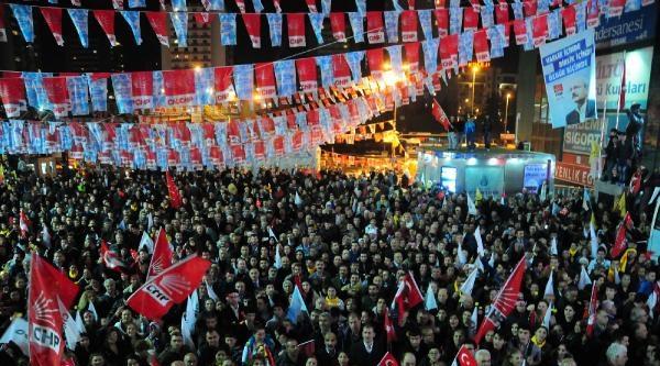 Kılıçdaroğlu Bahçelievler'de Konuştu