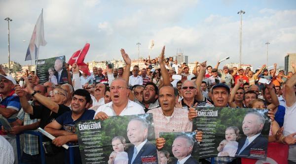 Kılıçdaroğlu: Barış İsteniyorsa Ekmeleddin Bey'i Seçelim / Ek Fotoğraflar