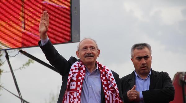 Kılıçdaroğlu, Başbakanlık Koltuğu Hırsızlık Yapma Yeri Değil (5)