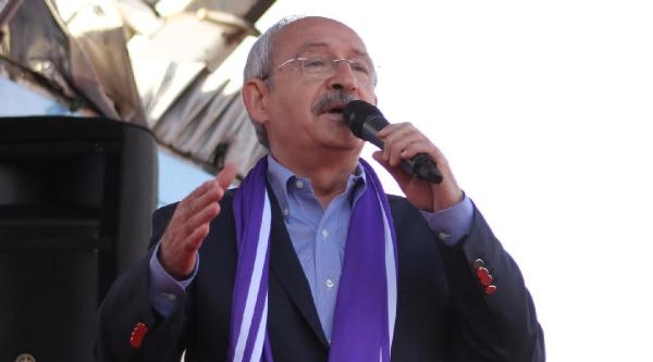 Kılıçdaroğlu: Başbakanlık Koltuğunda Şaibeli Bir Adam Oturamaz