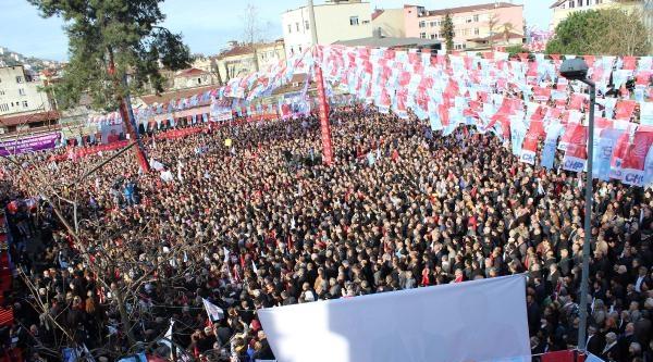 Kılıçdaroğlu: Başbakanlık Koltuğunda Şaibeli Bir Adam Oturamaz (2)