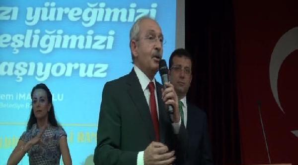 Kılıçdaroğlu Beylikdüzü'nde 2 İftara Birden Katıldı
