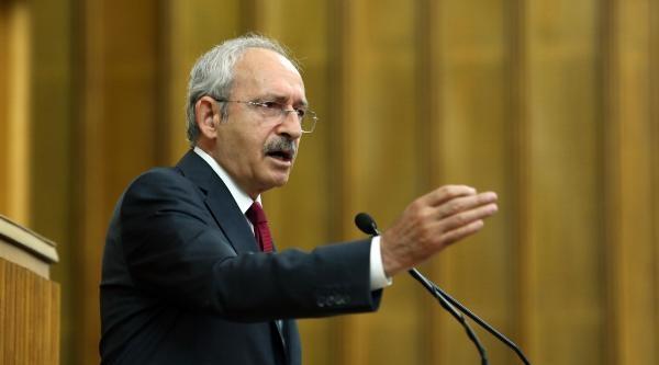 Kılıçdaroğlu : Cezalandıracaksan Adam Gibi Karar Alacaksın / Fotoğraflar