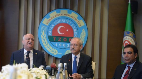 Kılıçdaroğlu: Cumhurbaşkanlığı Seçimlerine İlişkin Başbakanla Görüşmeyi Şu Anda Hiç Düşünmedim
