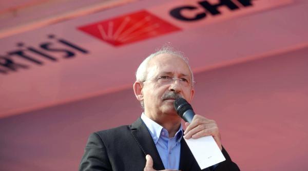 Kılıçdaroğlu: Diktatöre Demokrasi Dersi Vereceğiz (ek Fotoğraflar)