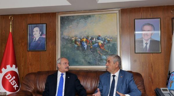 Kılıçdaroğlu, Disk'i Ziyaret Etti