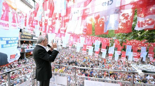 Kılıçdaroğlu: Erdoğan'ın Ağzından 'ışid Bir Terör Örgütüdür' Cümlesini Duyan Oldu Mu?