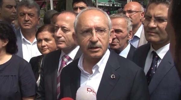Kılıçdaroğlu: Işid'in Elindeki Silahları Erdoğan Gönderdi