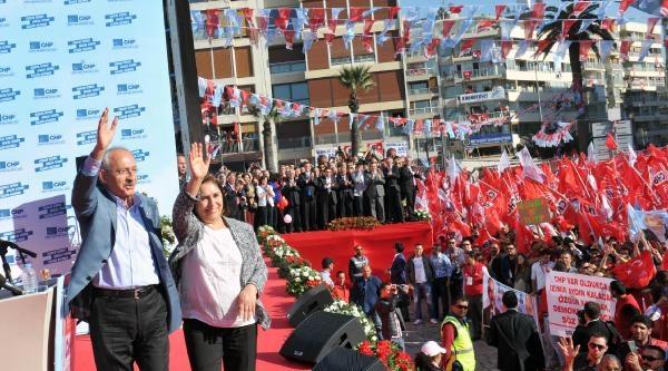Kılıçdaroğlu İzmir'den Başbakan'a Yüklendi: Adam Yerine Koymuyorum - Ek Fotoğraf