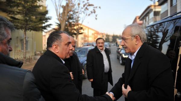Kiliçdaroğlu, Karaca'nin Ailesine Taziye Ziyaretinde Bulundu
