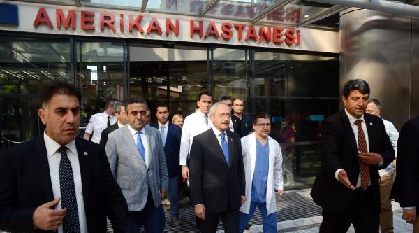Kılıçdaroğlu, Kenan Işik Ve Süleyman Seba'yı Ziyaret Etti