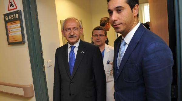 Kılıçdaroğlu, Kenan Işik Ve Süleyman Seba'yı Ziyaret Etti (fotoğraf)