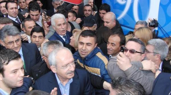 Kiliçdaroğlu Manisa'Ya Sarigül Ve Balbay'La Geldi