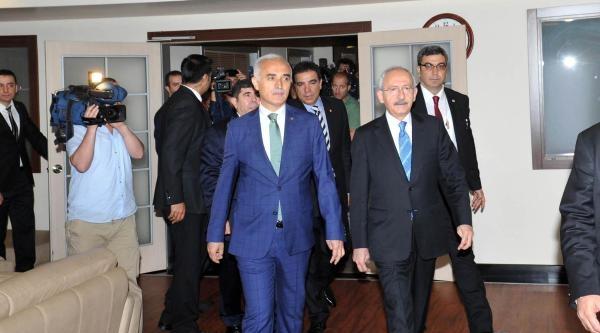 Kılıçdaroğlu Musiad'ı Ziyaret Etti