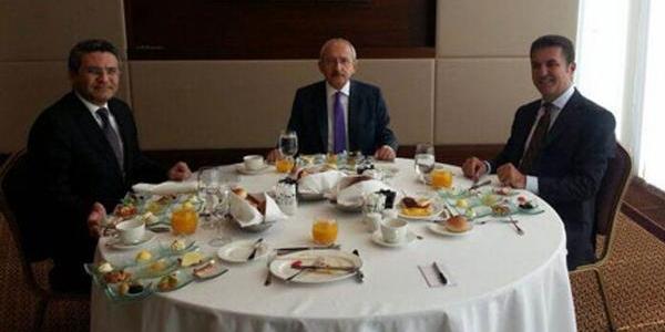 Kiliçdaroğlu, Mustafa Sarigül Ile Kahvaltida Buluştu