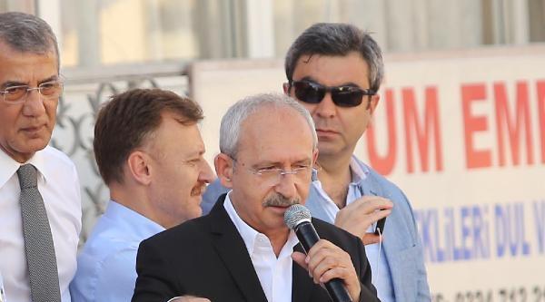 Kılıçdaroğlu: Oraya Oturacak Kişinin Ahlaklı Olması Lazım