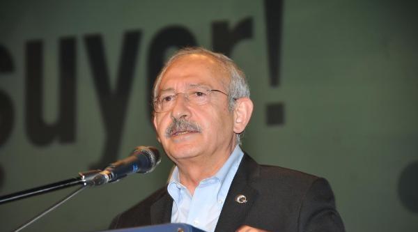 Kılıçdaroğlu: Parti Lideri Cumhurbaşkanı Adayı Olmamalı (fotoğraflar)