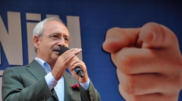 Kılıçdaroğlu: Seçim Tercihimizi Doğru Yaparsak Türkiye'yi Huzura Kavuştururuz (ek Fotoğraflar)