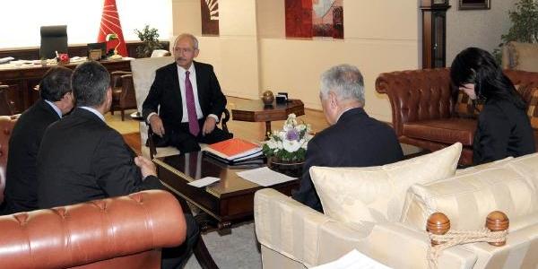 Kiliçdaroğlu, Sosyalist Enternasyonal Genel Sekreteri Ayala Ile Görüştü