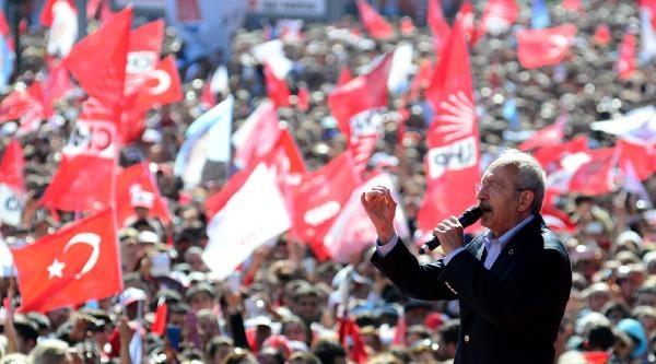 Kılıçdaroğlu: Suriye'de Akan Kanın Sorumlusu Recep Tayyip Erdoğan (1)