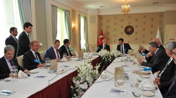 Kılıçdaroğlu, Tobb Genel Merkezini Ziyaret Etti
