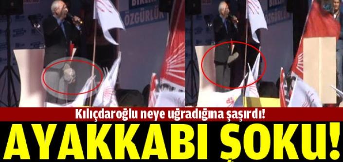 Kılıçdaroğlu'na ayakkabı şoku!