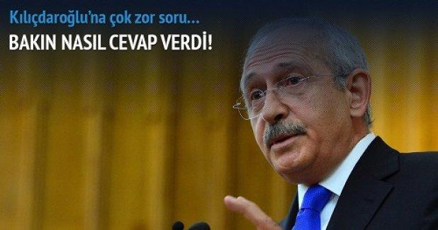 Kılıçdaroğlu'na çok zor soru!