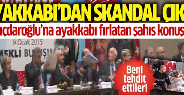 Kılıçdaroğlu'na fırlatılan ayakkabıdan skandal çıktı!