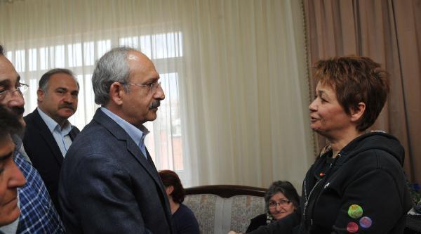 Kılıçdaroğlu'ndan Albay Özenalp'in Ailesine Taziye Ziyareti