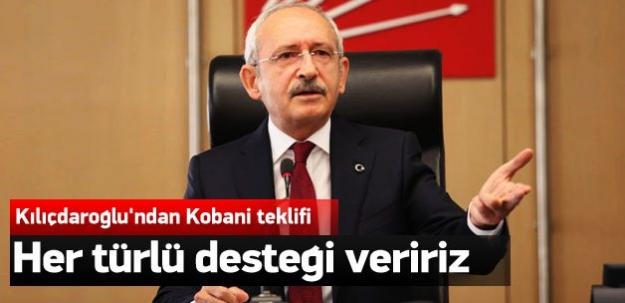 Kılıçdaroğlu'ndan hükümete Kobani teklifi