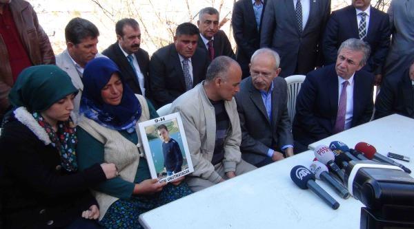 Kılıçdaroğlu'ndan Liseli Onur'un Ailesine Taziye Ziyareti