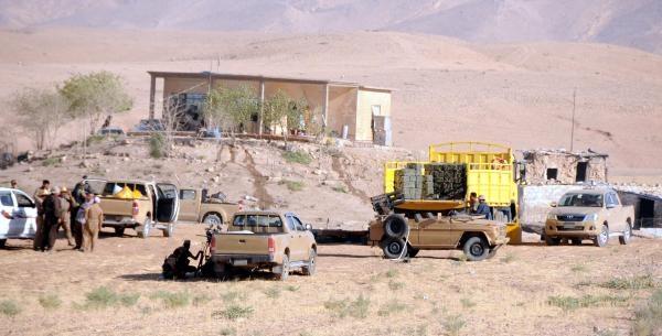 Kilise Ve İçindeki Okul Mülteci Kampına Döndü (2)