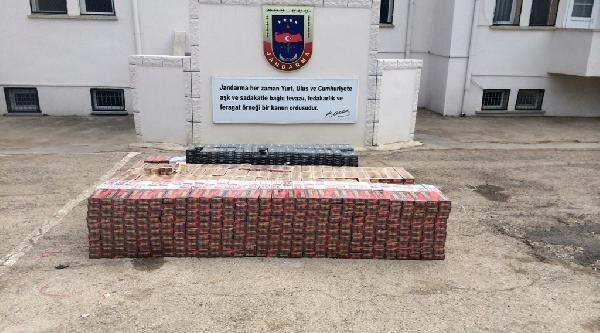 Kilis'te 13 Bin 350 Paket Kaçak Sigara Ele Geçirildi