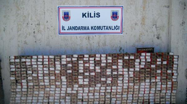 Kilis'te 30 Bin Paket Kaçak Sigara Ele Geçirildi