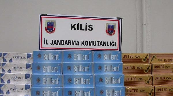 Kilis'te 92 Bin Paket Kaçak Sigara Ele Geçirildi