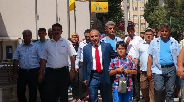 Kilis'te Başbakan Erdoğan'ın Hesabına Bağış Yapıldı
