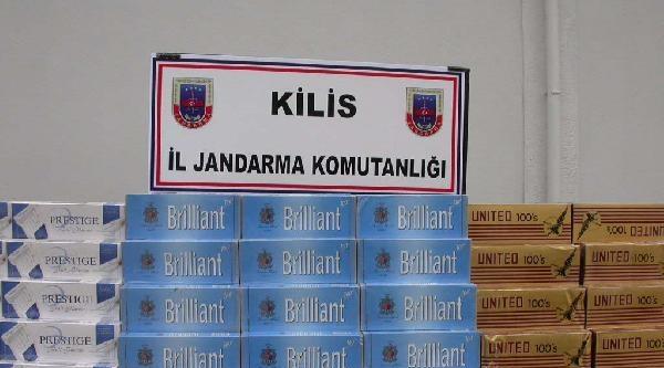 Kilis'te Kaçak Çay Ve Sigaraya 2 Gözaltı