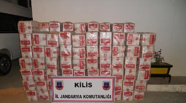Kilis'te Kaçakçılık Operasyonu: 6 Gözaltı