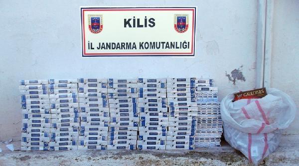 Kilis'te Ormanda 30 Bin Paket Kaçak Sigara