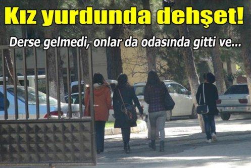 Kilis'te üniversiteli kız öğrenci kendini astı