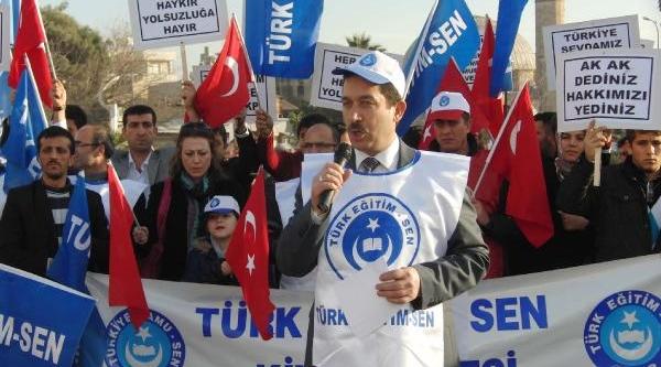 Kilis'te Yolsuzluk Protestosu