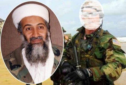 Kimliği sır gibi saklanıyordu! İşte Ladin'i öldüren asker!