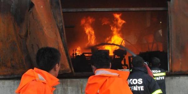 Kimya Fabrikasinda Patlama (2)