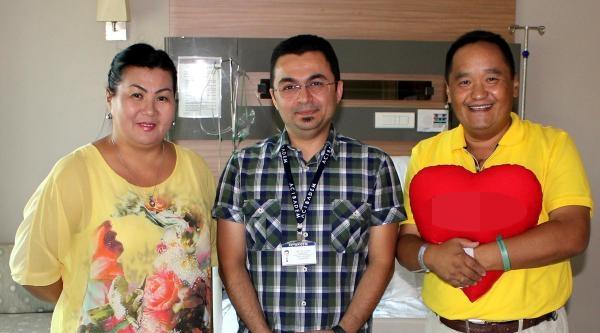 Kırgız Kalp Hastası, Kayseri'de Sağlığına Kavuştu