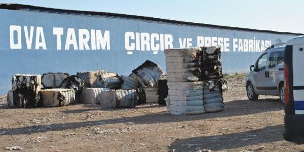 Kirikhan'da Çirçir Fabrikasinda 150 Ton Pamuk Yandi