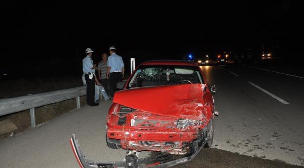 Kırıkkale'de 2 Kaza; 2 Ölü, 4 Yaralı